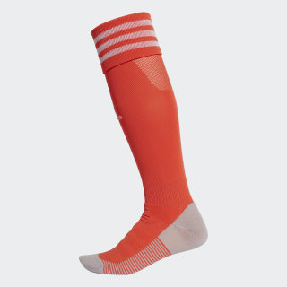 AdiSocks Knee Socks Semi Solar Red / White DW7384