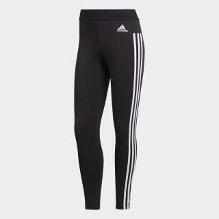 Essentials 3-Stripes tights Black / White BS4820