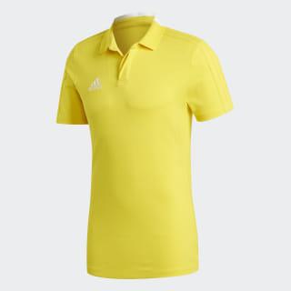 Condivo 18 Cotton Polo Shirt Yellow / White CF4378
