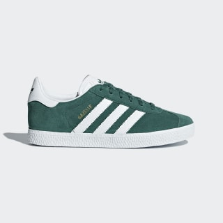 Gazelle Shoes Noble Green / Cloud White / Noble Green AQ1122
