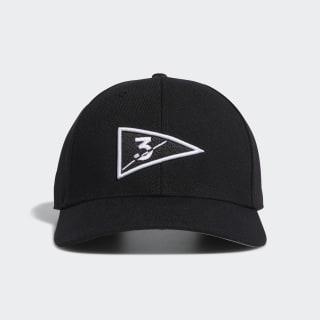 Golf Flag Hat Black FL7657