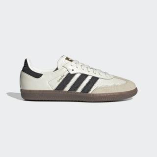 Samba OG FT Schoenen Off White / Carbon / Linen EE5458