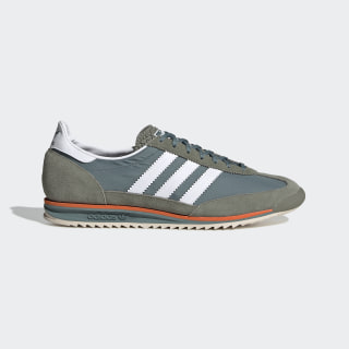 SL 72 Shoes Raw Green / Cloud White / Orange EG5198