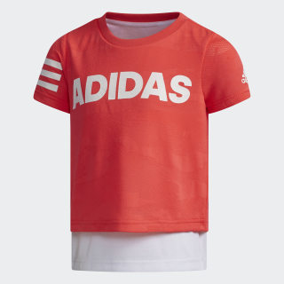 Graphic Tee Shock Red / White DW4065