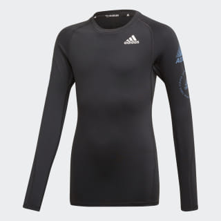 Maglia Alphaskin Sport Warm Black / Tech Ink ED6353