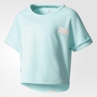 T-shirt Disney Frozen Cropped Energy Aqua/Icey Pink CF1541