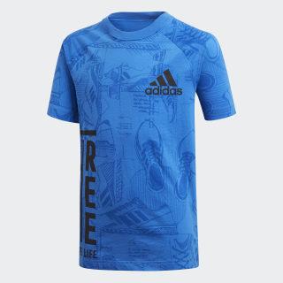 Camiseta ID Print BLUE/COLLEGIATE NAVY DJ1442