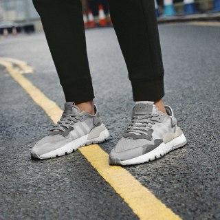 Zapatilla Nite Jogger Grey One / Crystal White / Grey Two DA8692