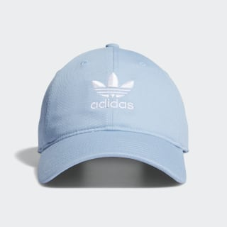 Relaxed Strap-Back Hat Light Blue CM3857