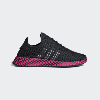 Deerupt Runner Shoes Black / Core Black / Shock Pink DB2687