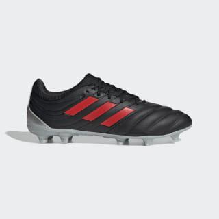 Calzado de Fútbol Copa 19.3 Terreno Firme Core Black / Hi-Res Red / Silver Metallic F35494