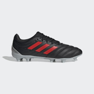 Scarpe da calcio Copa 19.3 Firm Ground Core Black / Hi-Res Red / Silver Met. F35494