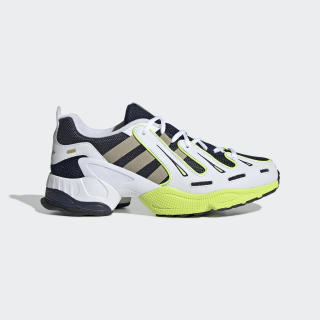 EQT Gazelle Shoes Collegiate Navy / Raw Gold / Solar Yellow EE7742