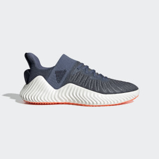 Alphabounce Trainer Shoes Tech Ink / Legend Ink / Solar Orange CG6237
