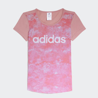 Remera Graphic Print TRACE PINK F17/WHITE CW2034