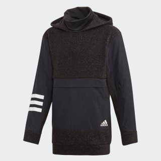 Худи для фитнеса ID Warm Black / White ED6411