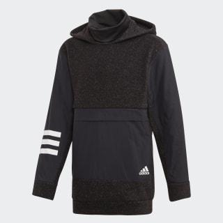 Sweat-shirt à capuche ID Warm Black / White ED6411