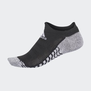 Alphaskin Traxion Ultralight No-Show Socks black / white CV7706