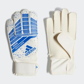 Predator Junior Gloves White / Football Blue DN8562