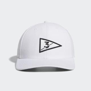Golf Flag Hat White FL8482