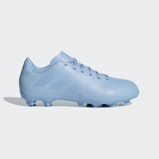 Calzado de Fútbol NEMEZIZ MESSI 18.4 FxG J ASH BLUE S18/ASH BLUE S18/GOLD MET. DB2368