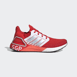Ultraboost 20 Singapore City Pack Shoes Active Red / Sky Tint / Glow Orange FX7817