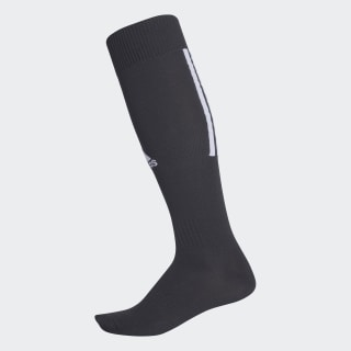 Santos 18 Socks Black / White CV3588