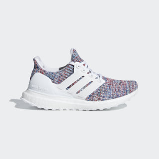 Ultraboost Shoes Cloud White / Cloud White / Blue F34036