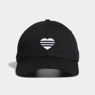 3-Streifen Heart Kappe Black FL5655