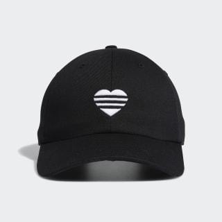 3-Stripes Heart kasket Black FL5655