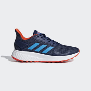Duramo 9 Shoes Dark Blue / Shock Cyan / Active Orange F35107