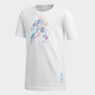 Camiseta Marvel Capitán América WHITE DM7768