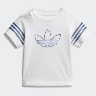 T-shirt Outline White / Tech Ink / Silver Metallic FM4445