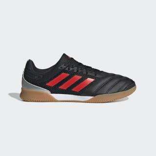 Botas de Futebol Copa 19.3 – Indoor Core Black / Hi-Res Red / Silver Met. F35502
