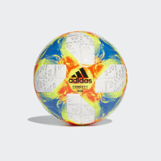 Mini balón Conext 19 White / Solar Yellow / Solar Red / Football Blue DN8638