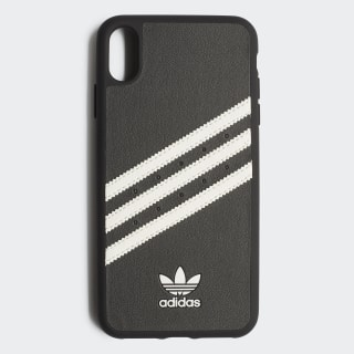 PU Moulded Case iPhone 6.5 Black / White CL2329