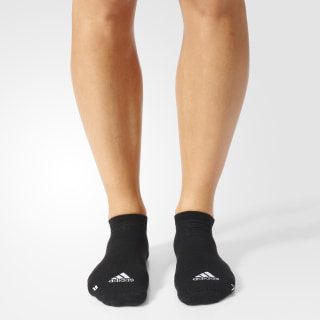 Calcetines Running Inivisibles (1 Par) BLACK/WHITE/WHITE S96261
