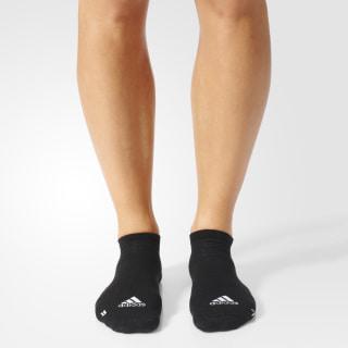 Calcetines Running Light No-Show ((1 Par)) Black / White / White S96261