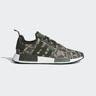 Chaussure NMD_R1 Sesame / Trace Cargo / Base Green D96617