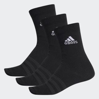 Bilekli Çorap - 3 Çift Black / Black / Black DZ9394