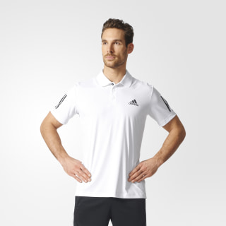 Playera Club Polo White / Black S97804