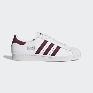 Tênis Superstar 80s ftwr white / maroon / crystal white CM8439
