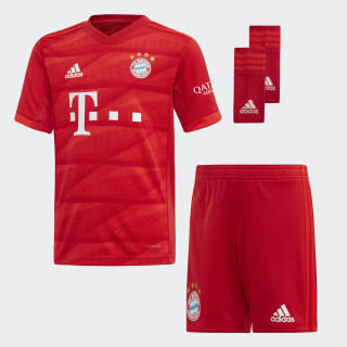 FC Bayern Home Youth Kit Fcb True Red DX9257