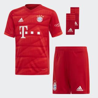 Miniconjunto primera equipación FC Bayern Fcb True Red DX9257