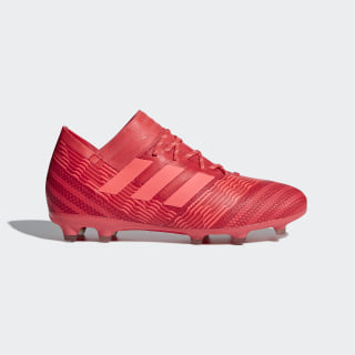 Nemeziz 17.1 Firm Ground Boots Real Coral/Red Zest/Core Black CP9153