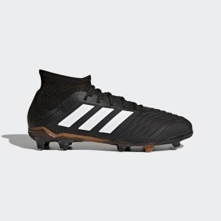 Scarpe da calcio Predator 18.1 Firm Ground Core Black / Ftwr White / Solar Red CP8872