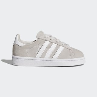 Chaussure Campus Grey One/Footwear White/Footwear White BY9595