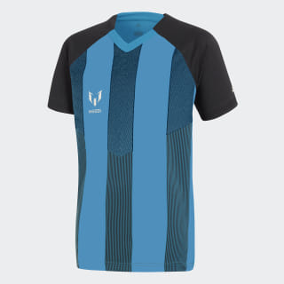 Playera Messi Icon BLACK/BRIGHT CYAN CF6997