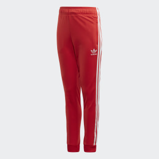 SST Tracksuit Bottoms Lush Red / White FM5676