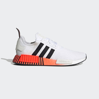 NMD_R1 Shoes Cloud White / Core Black / Solar Red FV3648